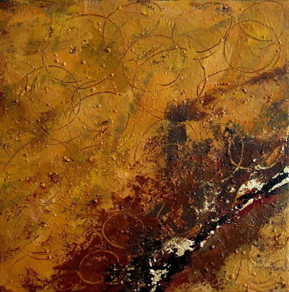 Painting - Earth Abstract Two by Lance Headlee
