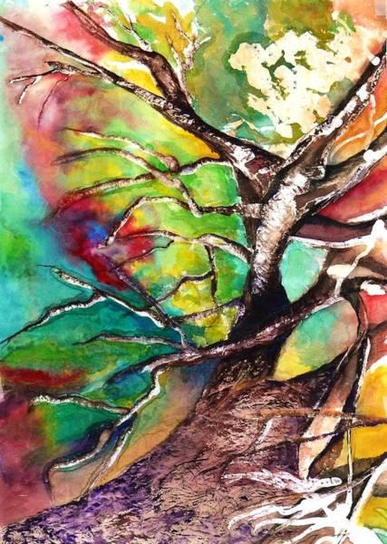 Angel Oak Painting - Earth Angel Sold by Tracie L Hawkins