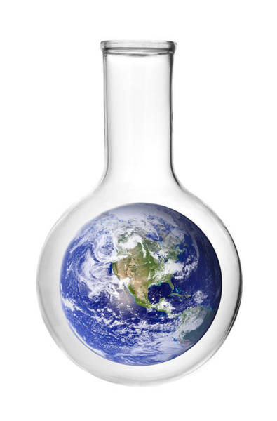Flask Wall Art - Photograph - Earth Science by Jim Hughes