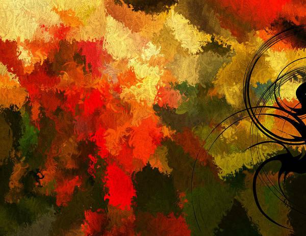 Autumn Colors Digital Art - Earth Shades by Lourry Legarde