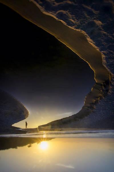 Sun Down Wall Art - Photograph - Earth Walker by Sean Foster