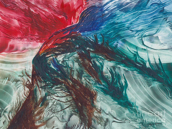 Painting - Earth Wind Fire And Ice by Shelley Jones