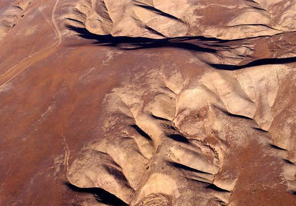 Photograph - Earthmarks 3 by Sylvan Adams