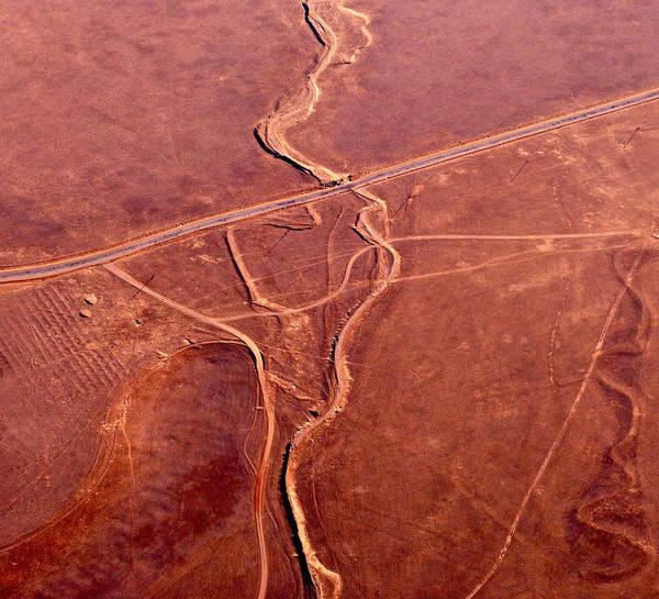 Photograph - Earthmarks 6 by Sylvan Adams
