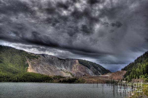 Gulick Photograph - Earthquake Lake Landslide by Jeremy Gulick