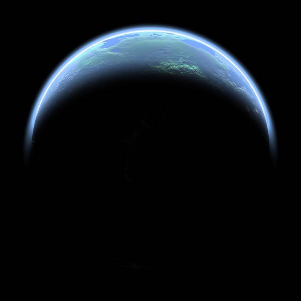 Earthrise Art Print