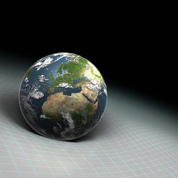 Wall Art - Photograph - Earth's Gravity by Science Picture Co/science Photo Library