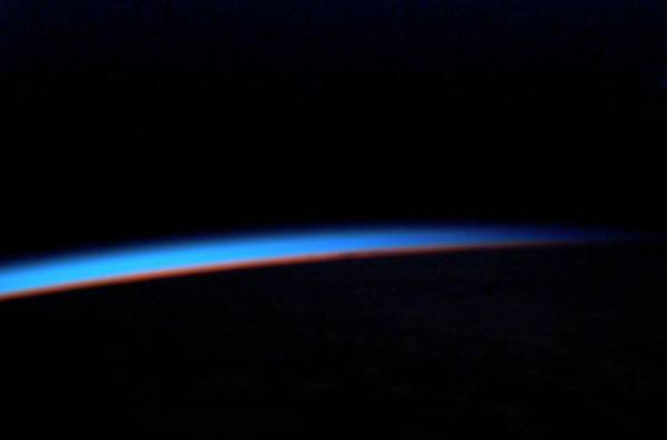 Endeavour Photograph - Earth's Horizon From Space by Nasa/science Photo Library
