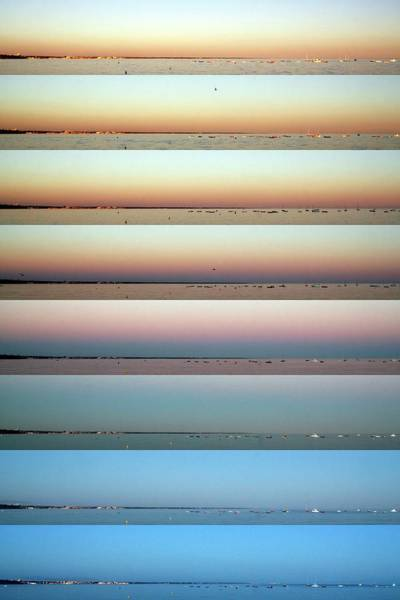 Sun Set Photograph - Earth's Shadow by Laurent Laveder/science Photo Library