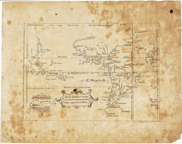 Hemisphere Wall Art - Photograph - East And West Indies by Library Of Congress, Geography And Map Division/science Photo Library