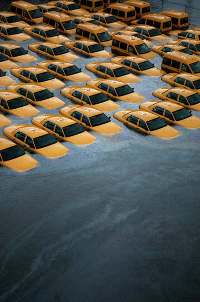Disaster Photograph - East Coast Begins To Clean Up And by Michael Bocchieri