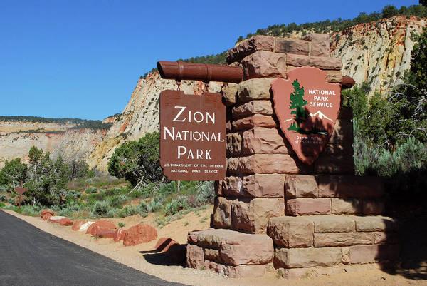 Lynn Wall Art - Photograph - East Entrance, Zion National Park, Utah by Lynn Seldon