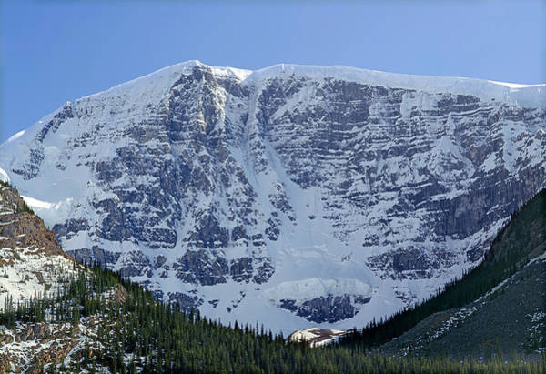 Photograph - 1m3744-east Face Mt. Kitchener by Ed  Cooper Photography