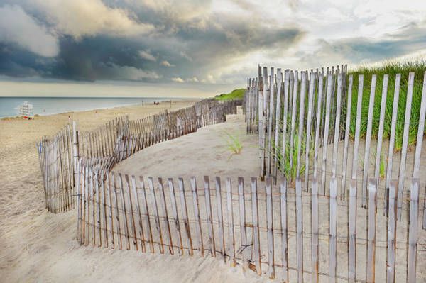 Tranquility Photograph - East Hampton Beach, Long Island, New by Mitchell Funk