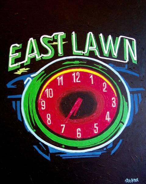 East Lawn Art Print by Paul Guyer