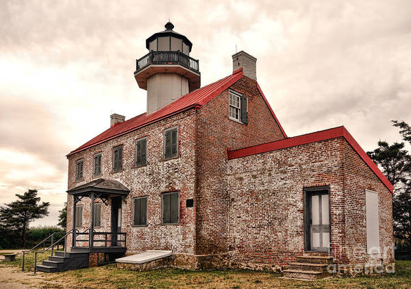 East County Photograph - East Point Light by Olivier Le Queinec