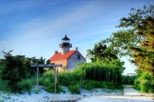 Wall Art - Photograph - East Point Lighthouse by Bill Cannon