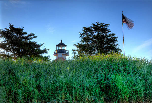 Wall Art - Photograph - East Point Lighthouse Through The Tall Grass by Bill Cannon