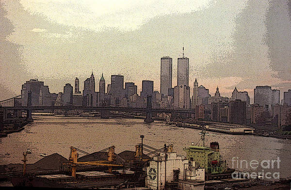 Photograph - East River From Williamsburg by Steven Spak