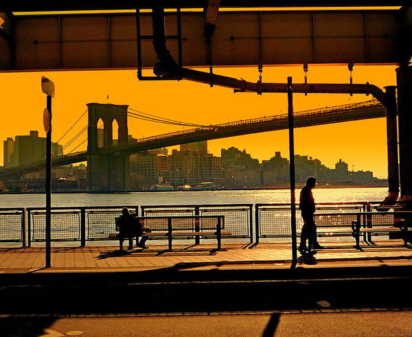 Wall Art - Photograph - East River Sunset by Valentino Visentini