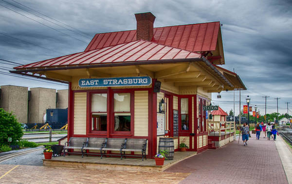 Photograph - East Strasburg Station by Guy Whiteley