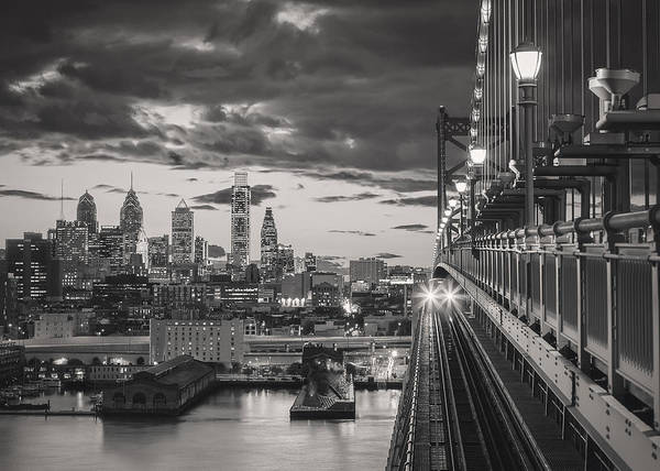 Wall Art - Photograph - Eastbound Encounter In Black And White by Eduard Moldoveanu