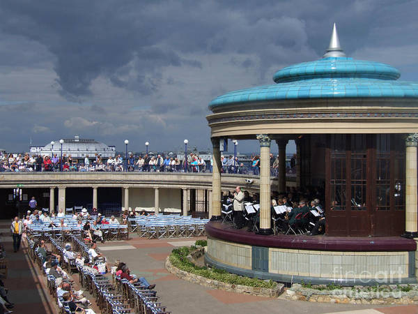 Photograph - Eastbourne Bandstand - Sussex by Phil Banks