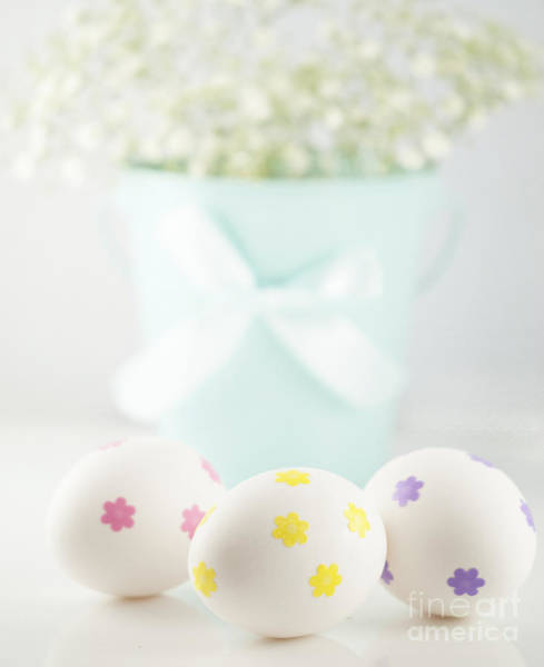 Breath Photograph - Easter Eggs by Juli Scalzi