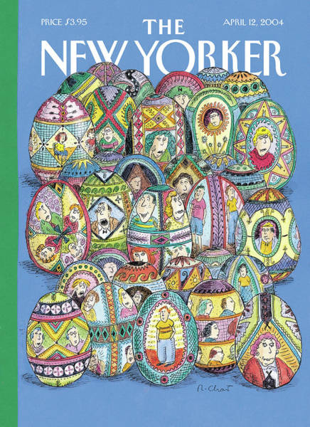 Painting - Easter Eggs by Roz Chast