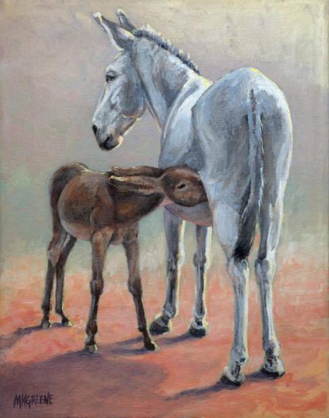 Gestation Painting - Easter Gift by Margi Greene