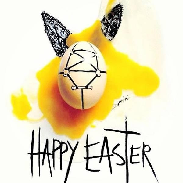Wall Art - Photograph - #easter #happy Easter #egg by Marina Boitmane