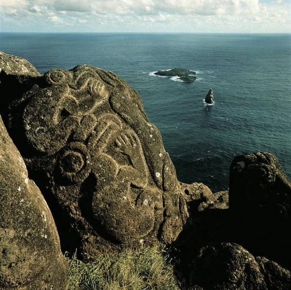Birdman Wall Art - Photograph - Easter Island by George Holton