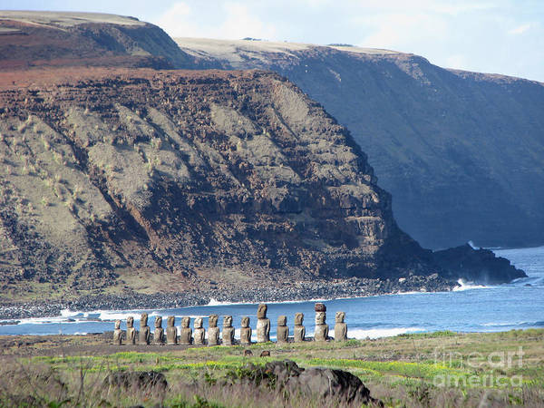 Photograph - Easter Island Requiem by Jola Martysz