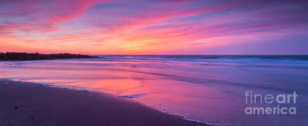 Reverse Wall Art - Photograph - Easter Sunday Sunrise 16x7 by Michael Ver Sprill