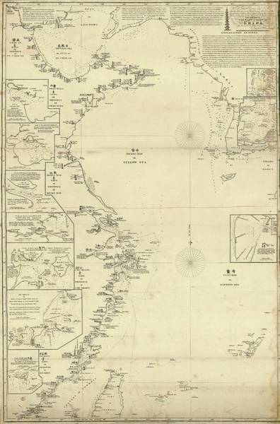 Wall Art - Photograph - Eastern Coast Of China by Library Of Congress, Geography And Map Division/science Photo Library