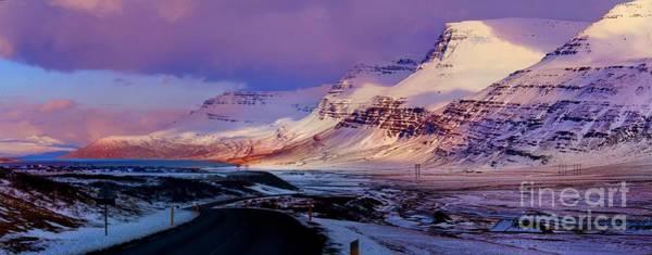 Eastern Iceland Mountain Pass Art Print