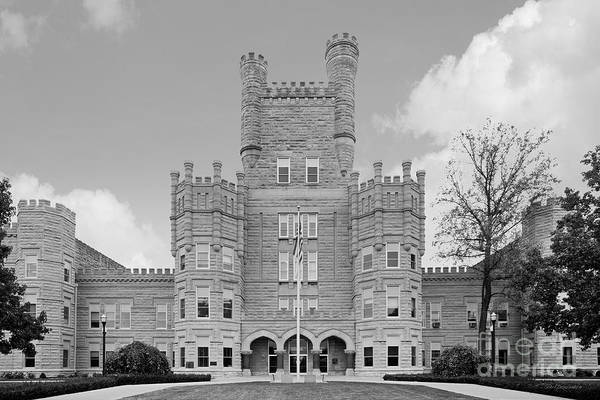 Photograph - Eastern Illinois University Old Main by University Icons