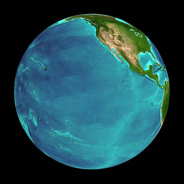 Wall Art - Photograph - Eastern Pacific Ocean by Martin Jakobsson/science Photo Library