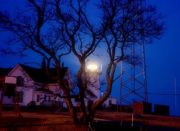 Photograph - Eastern Point Lighthouse - Gloucester Ma by Joann Vitali