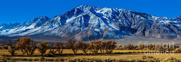 Sierra Nevada Photograph - Eastern Sierra Nevada Panorama - Bishop - California by Gary Whitton