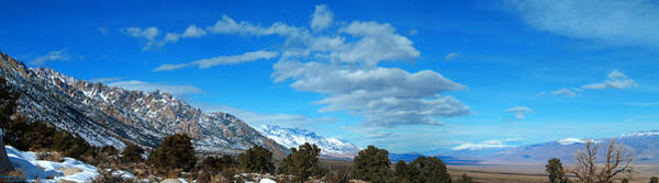 Photograph - Eastern Sierras Panoramic - U S 395 California by Glenn McCarthy Art and Photography