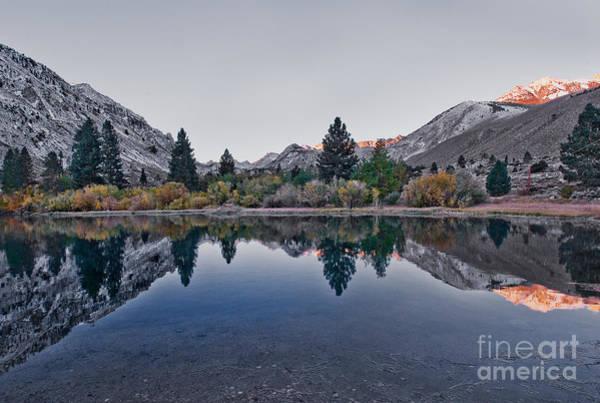 Photograph - Eastern Sierras Reflection by Mae Wertz
