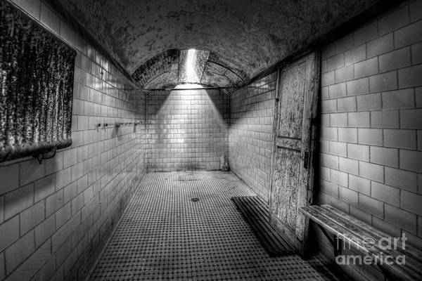Nikon D800 Wall Art - Photograph - Eastern State Penitentiary Shower by Michael Ver Sprill