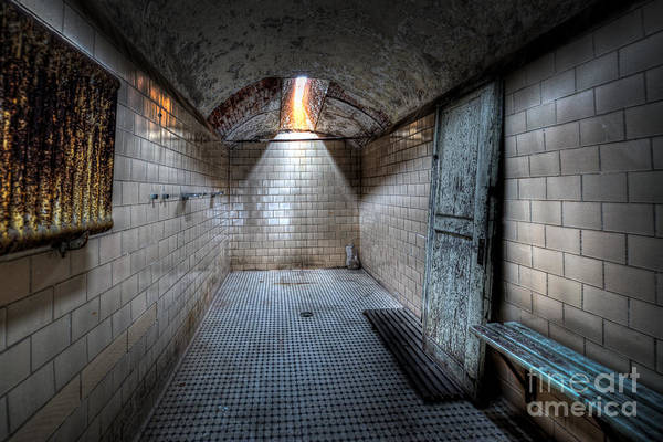 Nikon D800 Wall Art - Photograph - Eastern State Shower Facility by Michael Ver Sprill