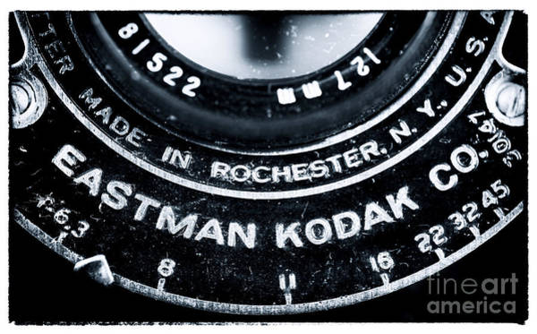 Wall Art - Photograph - Eastman Kodak Co by John Rizzuto