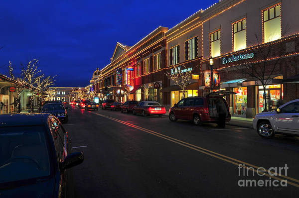 D65l-123 Easton Town Center Photo Art Print