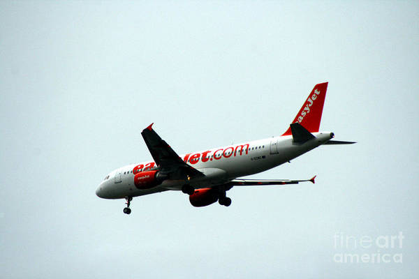 Photograph - Easy Jet Airlines by Doc Braham