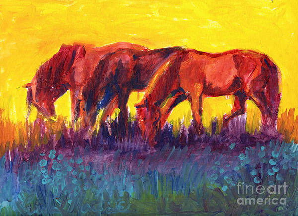 Painting - Easy by Linda L Martin