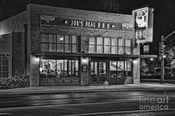 Photograph - Eat At Joe's by Eddie Yerkish