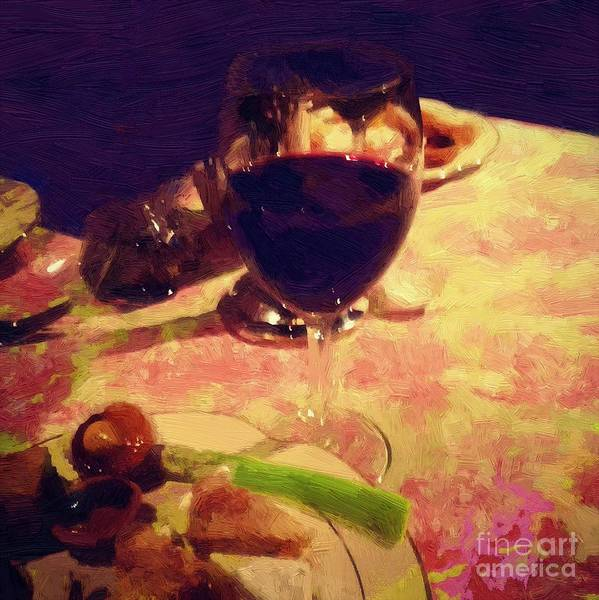 Painting - Eat Drink And Be Merry by RC DeWinter